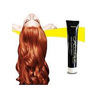 Стойкая крем краска для волос Интенсивный медно светлый блонд 8.44 Εxclusive Hair Color Cream 100 мл