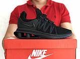 Модные мужские кроссовки Nike Shox Gravity,черные, фото 2