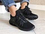 Модные мужские кроссовки Nike Shox Gravity,черные, фото 4