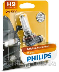 Лампа накаливания H9 12V 65W PGJ19-5 STANDARD (blister 1шт) (пр-во Philips) 12361B1