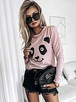 Женская стильная кофта Панда, фото 1
