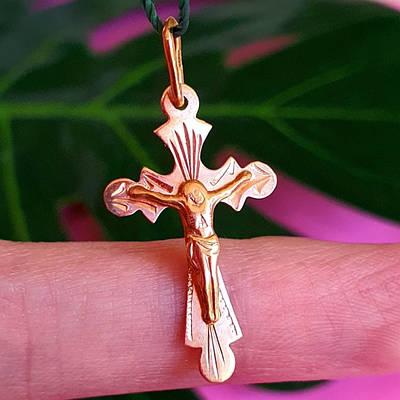 Золотий хрестик 6762