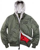 Куртка-бомбер Alpha Industries MA-1 D-TEC MJM38029C1 (Sage Green)