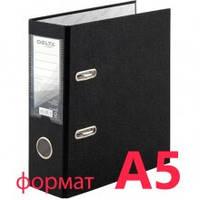 Сегрегатор А5 односторонний 7,5 см черный Delta by Axent PP № D1718-01С