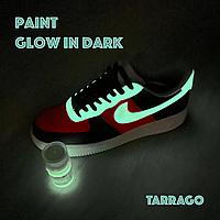 Светящаяся краска для кроссовок Tarrago Sneakers Paint Glow in Dark, 25 мл