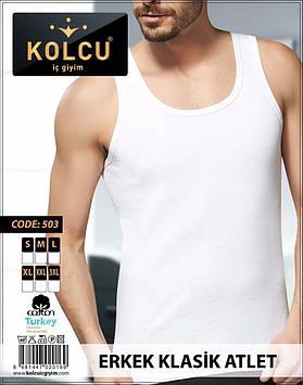 Мужская майка Kolcu 100% Хлопок Турция