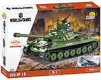 Конструктор Танк ИС-7 COBI World Of Tanks (COBI-3038), фото 1