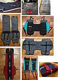 Накидки на передние сидения автомобильные чехлы универсальные с вышивкой, фото 8