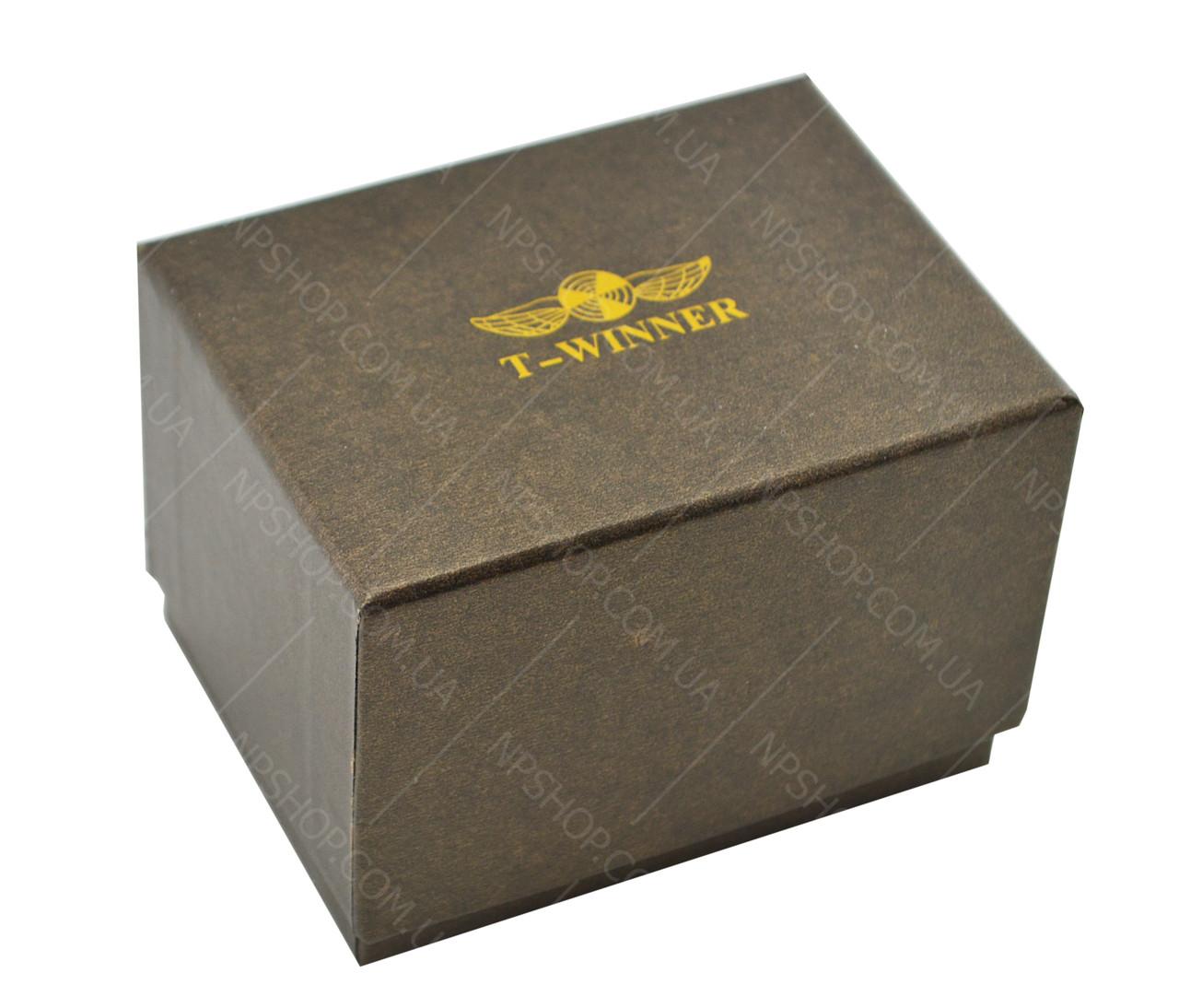 Коробка подарочная для наручных часов T-WINNER c подушкой (твердая)