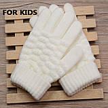 Детские вязанные перчатки Shouhushen, фото 2