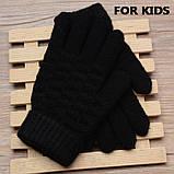 Детские вязанные перчатки Shouhushen, фото 3