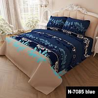 Комплект постельного белья Gold Завитки - 4 размера Двуспальный