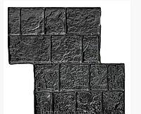 """Полиуретановый штамп """"Приморский"""" для напольной печати по бетону 490*490 мм"""