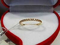 Кольцо золотое с куб.цирконием