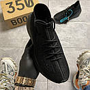 Adidas Yeezy Boost 380 Triple Black, фото 4