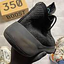 Adidas Yeezy Boost 380 Triple Black, фото 6