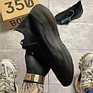 Adidas Yeezy Boost 380 Triple Black, фото 2