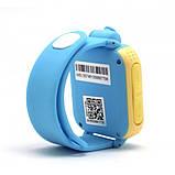 Детские Smart часы Baby watch Q200 (TW6) 1.54' LED + GPS трекер Blue, фото 4