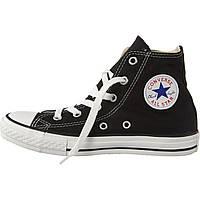 Кеды Converse All Stars Black High M9160 (черные) 35