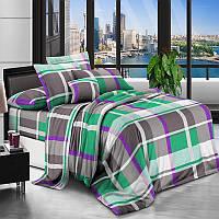 Постельное белье Цветные квадраты, полиэстер 4 размера
