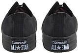 Кеды Converse All Stars Black Monochrome Low M5039 (черные), фото 3