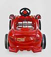 Машина педальная Pilsan Herby 07-312 Червоний, клаксон на кермі, фото 5