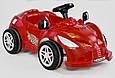 Машина педальная Pilsan Herby 07-312 Червоний, клаксон на кермі, фото 2