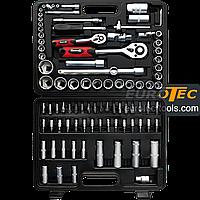 Набор торцевых головок и бит 94 предмета, Champion CP-007S, набор инструментов для авто, фото 1