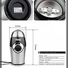 Кавомолка DSP KA-3001, 200 Вт. Обсяг 50г., фото 7