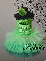 """Карнавальна сукня-спідниця з фатину """"Капуста"""", фото 2"""