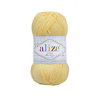 Детская пряжа (100% микрофибра акрил, 100г/350м) Alize Diva Baby 187(светлый лимон)