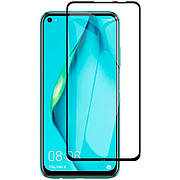 Защитное стекло 3D Glass Premium Huawei P40 Lite Black