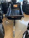 Прицеп для квадроцикла Shark ATV Trailer Garden 680kg 2 Колеса (Black), фото 3