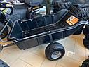 Прицеп для квадроцикла Shark ATV Trailer Garden 680kg 2 Колеса (Black), фото 4