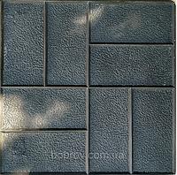 """Полиуретановый  штамп """"Паркет"""" для печати по бетону 420*420 мм"""