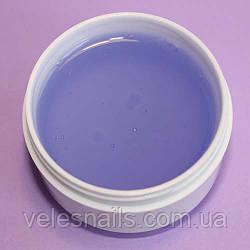 Прозрачно-фиолетовый гель на розлив Silcare 15мл