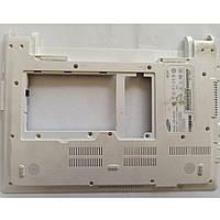 """Нижня частина корпуса для ноутбука Samsung NP-NC20, NC20, 12.1"""", ba75-02162a, ba81-06231a, б/в. Ліві верхні кріплення після ремонту"""