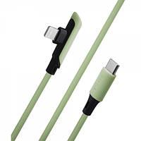 Кабель Baseus (CATLDC-A) Type C - Lightning (18W) (1.2m) Green (BS-000068536)