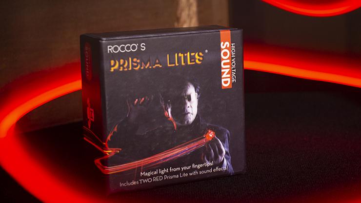 Реквізит для фокусів | Rocco's Prisma Lites SOUND Pair (Magic/Red) Звук Магії