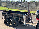Прицеп для квадроцикла Shark ATV Trailer Wood 1500 (Black), фото 2