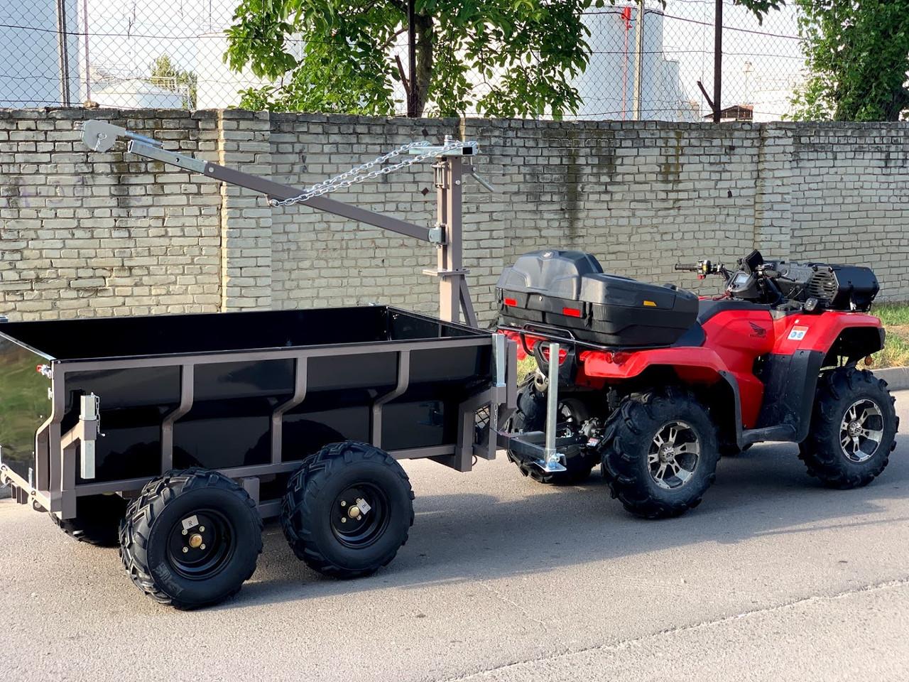 Прицеп для квадроцикла Shark ATV Trailer Wood 1500 (Black)