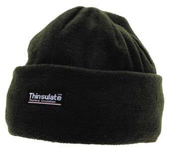 Флисовая шапка, подкладка Thinsulate MFH Olive 10853B , фото 2