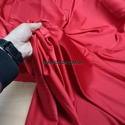 Шелк армани красный, фото 2