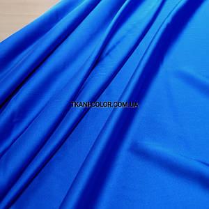 Ткань шелк армани синий электрик