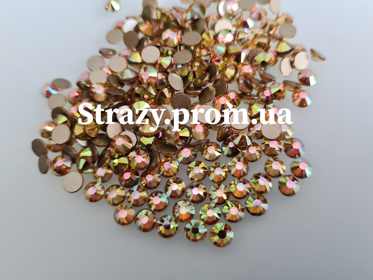 Стразы Lux ss20 Suneshine AB (5.0mm) 100шт