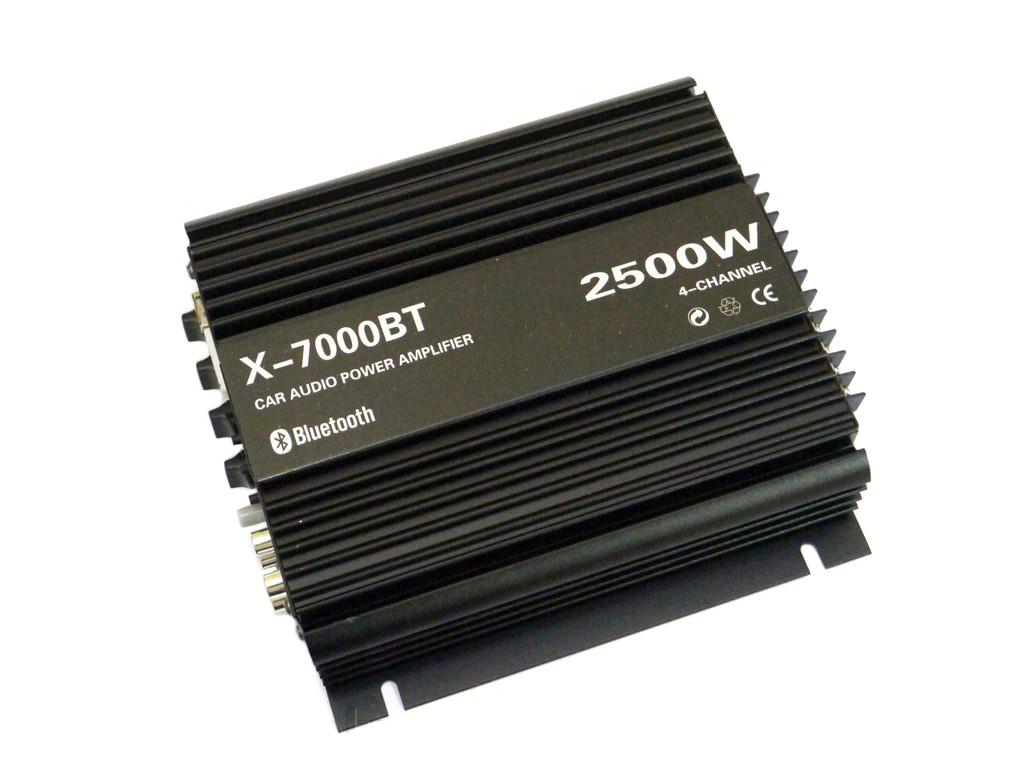 Автомобільний підсилювач звуку X-7000BT