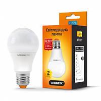 LED лампа VIDEX VL-A60e12V-092749вт E27 4100к 12-48в