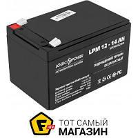 Аккумулятор свинцово-кислотный Logicpower LPM 12В 14Ач (4161)