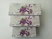 Коробка прямоугольная картонная 23.8x9x6.5cm код (04301)