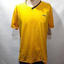 Мужская футболка (больших размеров) 2xl, 3xl Турция желтая